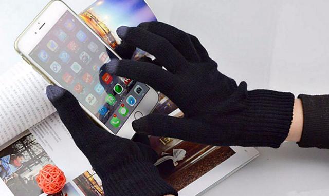 перчатки для телефона