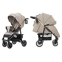 Прогулянкова коляска CARRELLO Echo CRL-8508/2 Camel Beige +дощовик +москітна сітка
