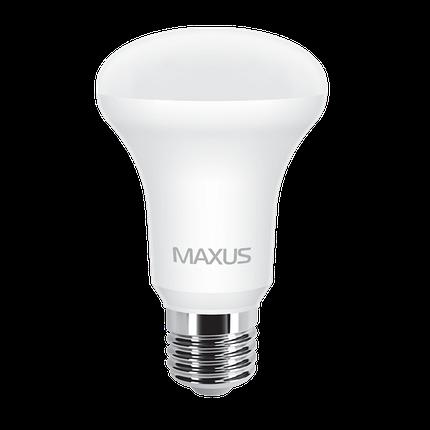 Лампа MAXUS R63 7W 3000K 220V E27 Теплый свет, фото 2