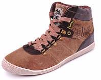 Утепленные кроссовки Restime Vintage, натуральная замша. 43р