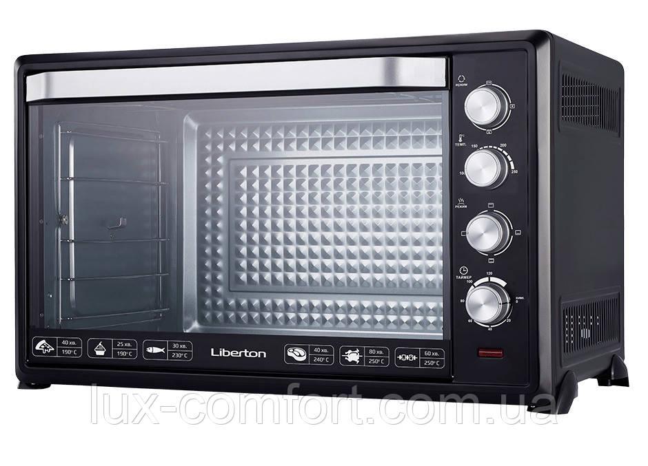 Електродуховка Liberton LEO-1000 Black 100 л з конвекцією