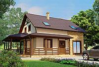 Строительство дома из сип панелей 199,39м.кв. «ЛОРЕЙН»