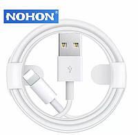 Зарядный кабель для Apple iPhone. lighting Nohon 1m USB-lighting