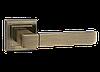 Дверные ручки LINDE A-2004 AB - старая бронза