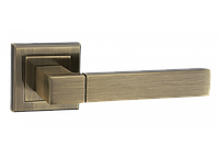 Дверные ручки LINDE A-2004 AB - старая бронза, фото 1