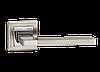 Дверные ручки LINDE A-2008 SN/CP - матовый никель/хром