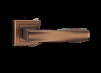 Дверные ручки LINDE A-2010 MCF - матовая темная бронза, фото 1