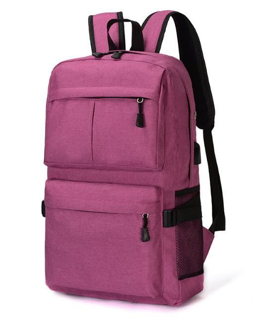 Рюкзак червоний з кишенями