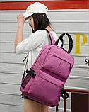 Рюкзак червоний з кишенями, фото 3