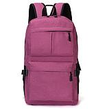 Рюкзак червоний з кишенями, фото 6