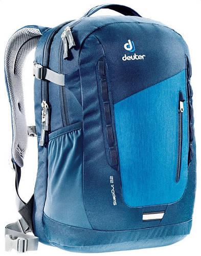 Мужской прочный городской рюкзак DEUTER StepOut 22, 3810415 3328 синий