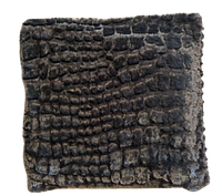 Ортопедическая подушка с гречневой шелухой ( искусственный мех)