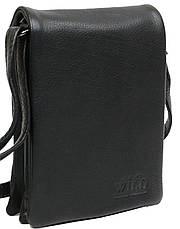 Небольшая наплечная кожаная сумка-барсетка Always Wild 011NDM, фото 2