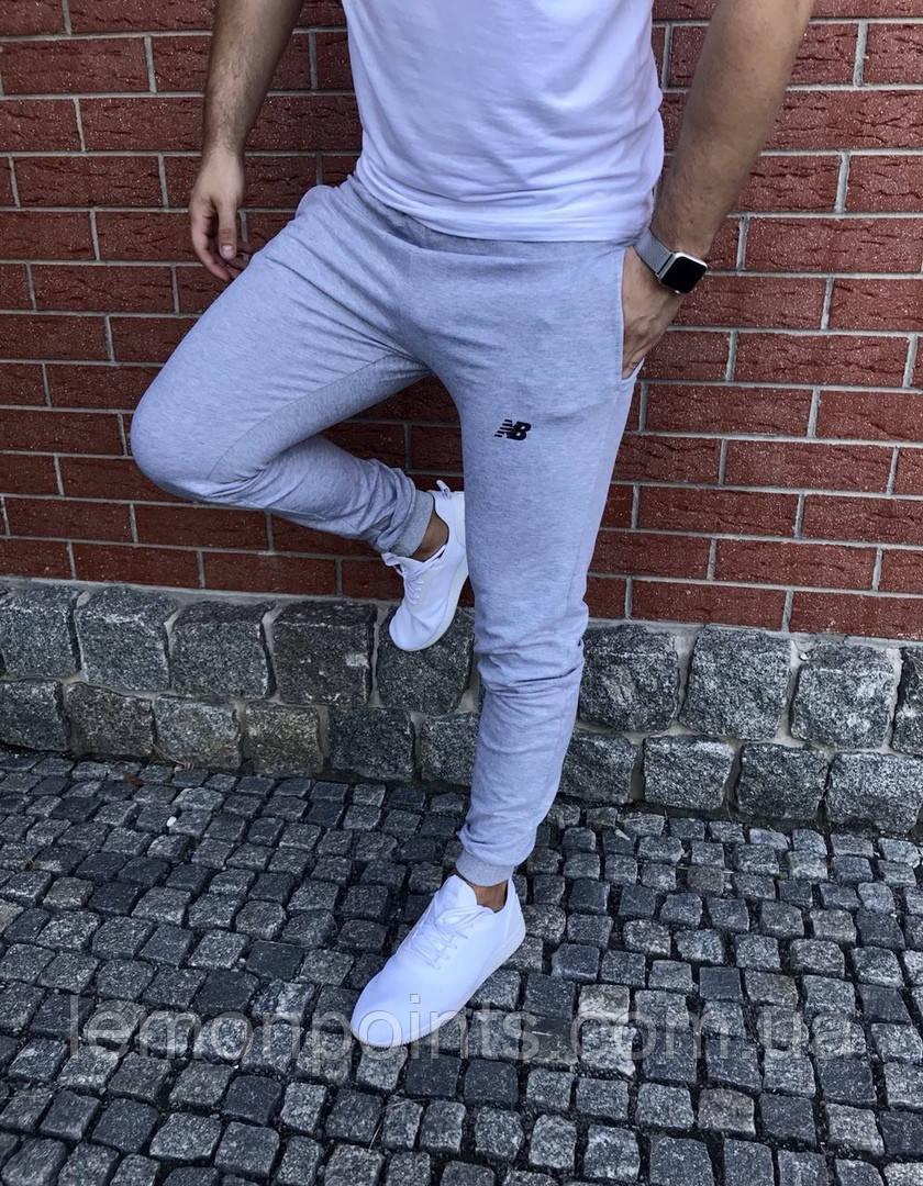 Чоловічі спортивні штани ФЛИС (до -25 °С) New Balance сірі
