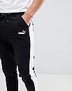 Чоловічі спортивні штани ФЛИС (до -25 °С) Puma з лампасами, фото 2