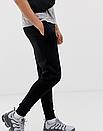 Теплые мужские спортивные штаны Nike №91 черные (ФЛИС), фото 2