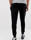 Теплые мужские спортивные штаны Nike №91 черные (ФЛИС), фото 3