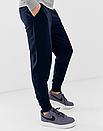 Теплые мужские спортивные штаны The North Face №95 синие ФЛИС (до -25 °С), фото 2