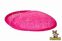 Основа Синамей для шляпки, вуалетки Фуксия 19x20 см