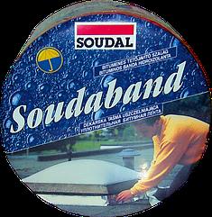 Битумная(Лента)Монтажная 100 мм х 10м Графит SOUDABAND Для Кровельных Работ