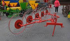 Грабли-ворошилки Солнышко 5-и колесные Agromech (Польша)