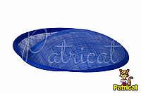 Основа Синамей для шляпки, вуалетки Синяя 19x20 см