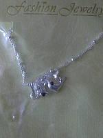 Кулон дельфин с цепочкой.24