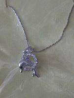 Кулон дельфин с цепочкой.25