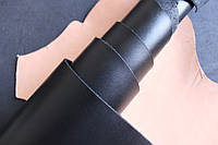 Натуральная кожа для обуви и кожгалантереи черная арт. СК 1036
