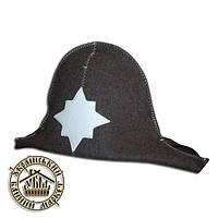 """""""Наполеон"""", шапка для бани и сауны (шерсть)"""