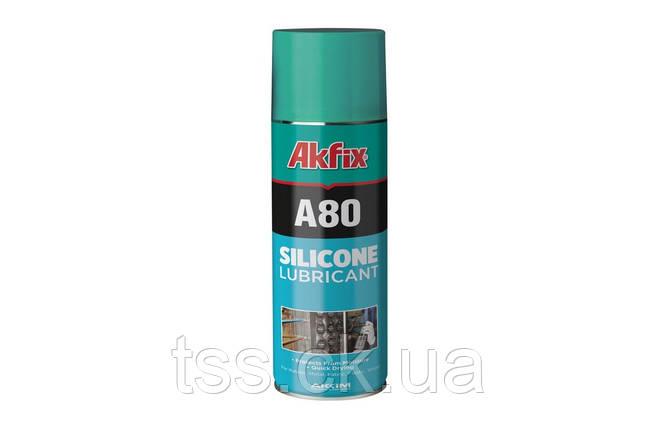 Смазка силиконовая AKFIX А80 400 мл YA140, фото 2