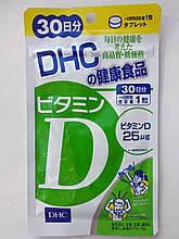 Вітамін D3, 30 таблеток (на 30 днів). DHC, Японія