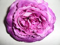 Цветок роза-брошь большая  разные цвета