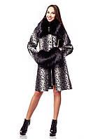 Пальто зимнее женское в 3х цветах с мехом П - 910 (и/м)