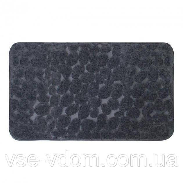 Коврик Trento Coral Velvet Ground для ванной серый
