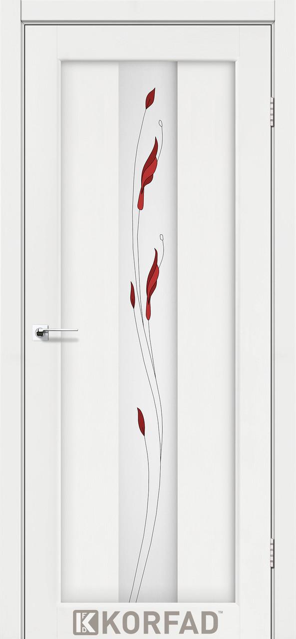 Двери Korfad PR-10 M1 Ясень белый