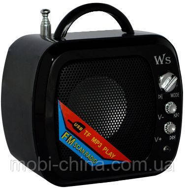 Digital Speaker   Mini WS-575 (портативное радио+TF), фото 2