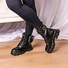 Черевики жіночі Fashion Sondra 2401 37 розмір 23,5 см Чорний, фото 2