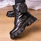 Черевики жіночі Fashion Sondra 2401 37 розмір 23,5 см Чорний, фото 3