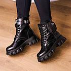 Черевики жіночі Fashion Sondra 2401 37 розмір 23,5 см Чорний, фото 4
