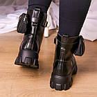 Черевики жіночі Fashion Sondra 2401 37 розмір 23,5 см Чорний, фото 5