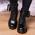 Черевики жіночі Fashion Sondra 2401 37 розмір 23,5 см Чорний, фото 6