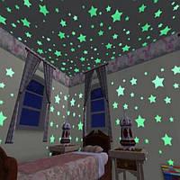 Светящиеся звезды 100 штук
