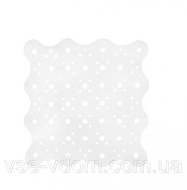 Килимок AWD Interior для ванни, білий 51*51 каучук