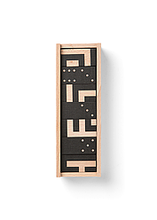 Набор игральный   Domino Puzzle Maze