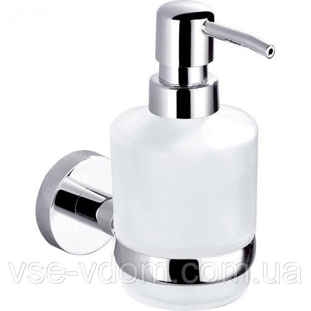 Дозатор жидкого мыла Perfect Sanitary Appliances навесной 8133 стекло/метал латунь