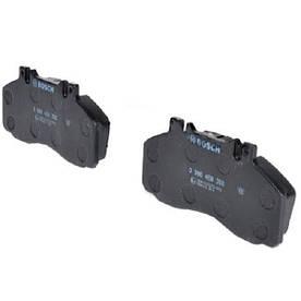 Гальмівні колодки Bosch дискові передні MB 5t/6t/7t/Vario -06 0986468350