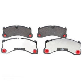 Тормозные колодки Bosch дисковые передние VW Touareg 06-10 0986494206