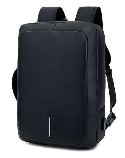 Рюкзак-сумка черный в стиле Bobby
