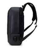 Рюкзак-сумка чорний в стилі Bobby, фото 2